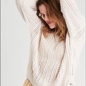 AMERICAN EAGLE NWOT chenille sweater